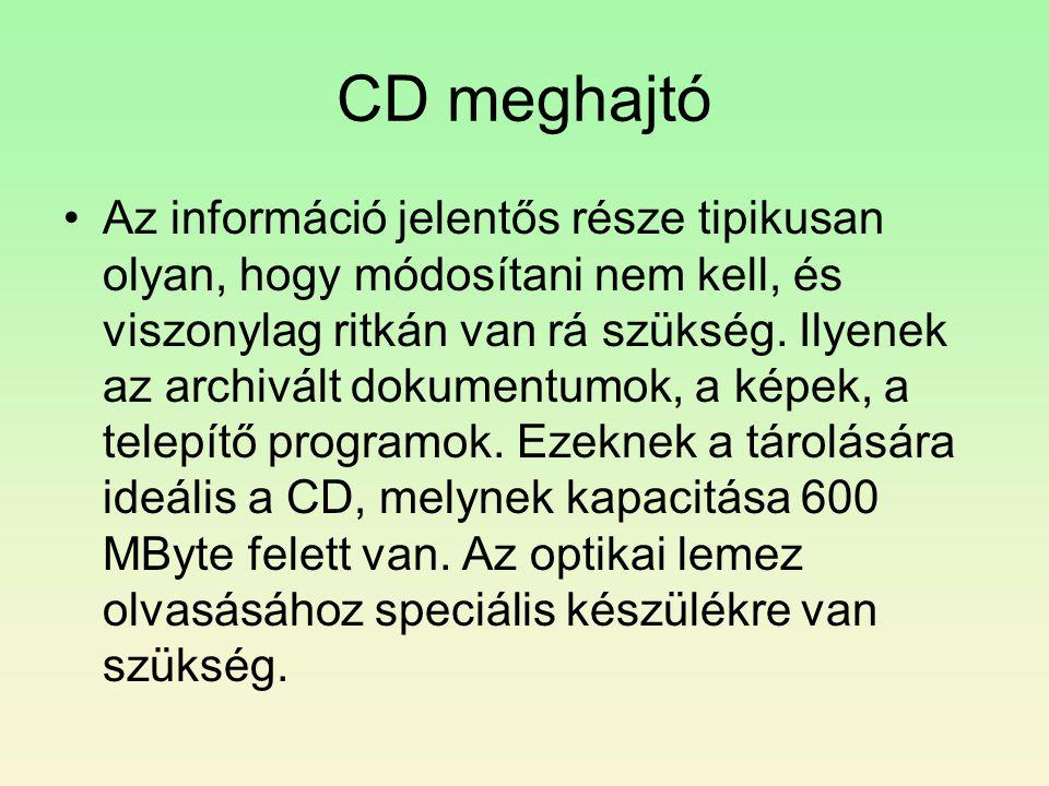 CD meghajtó