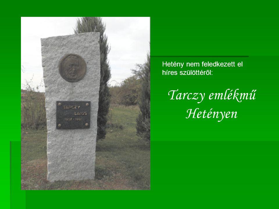 Tarczy emlékmű Hetényen