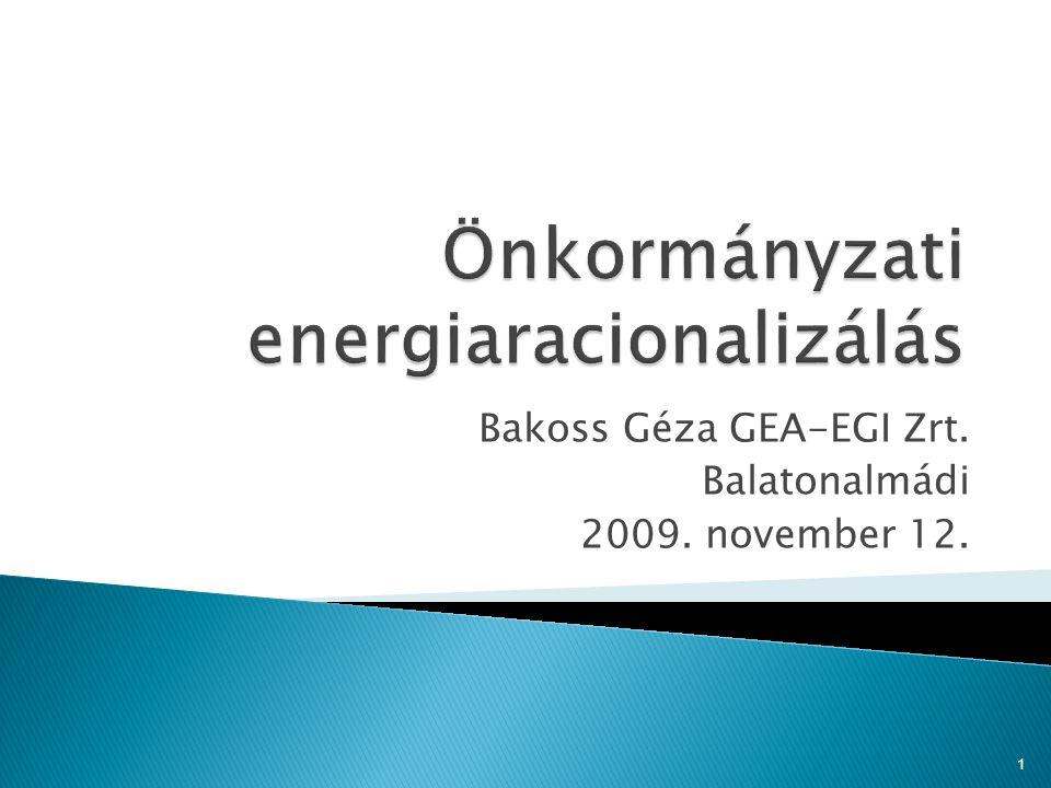 Önkormányzati energiaracionalizálás