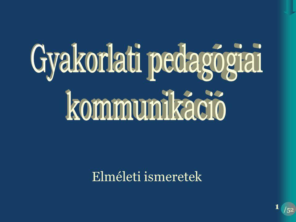 Gyakorlati pedagógiai