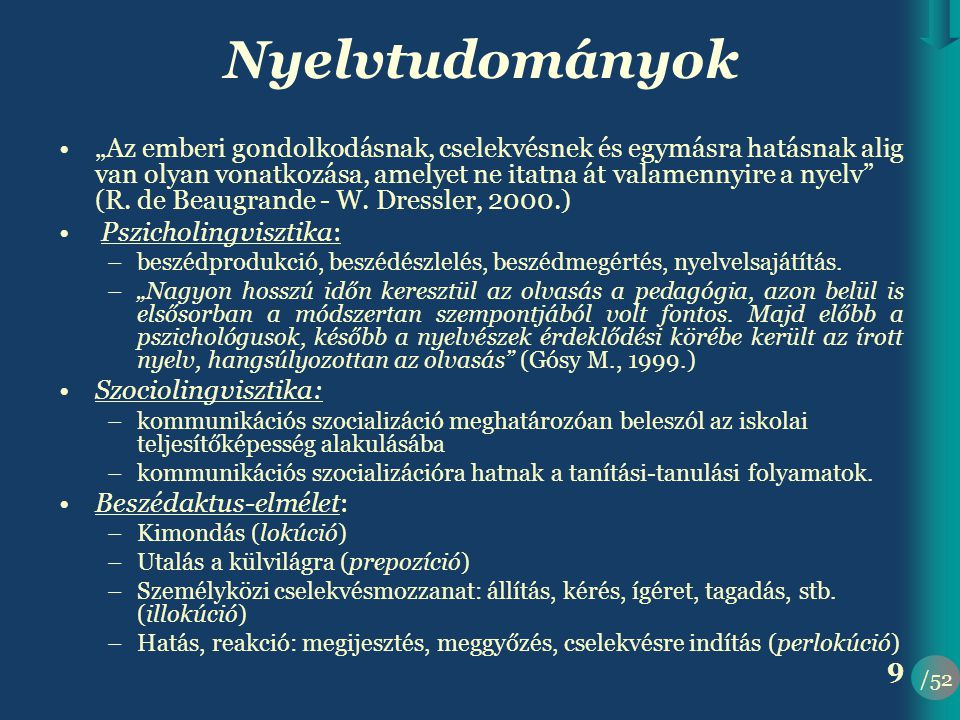 Nyelvtudományok