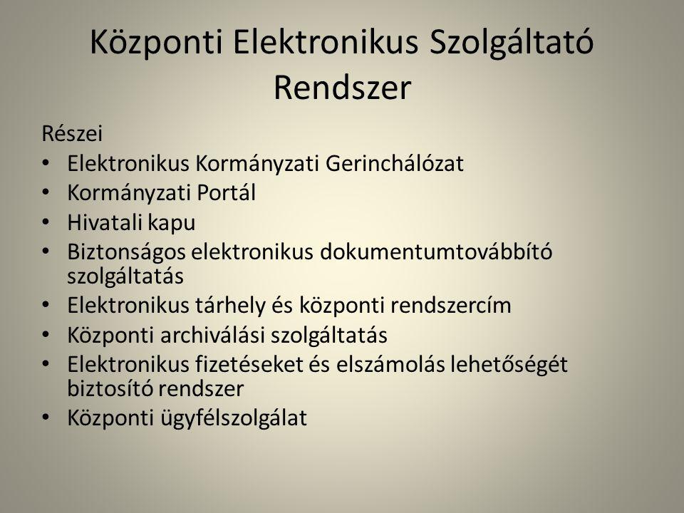 Központi Elektronikus Szolgáltató Rendszer