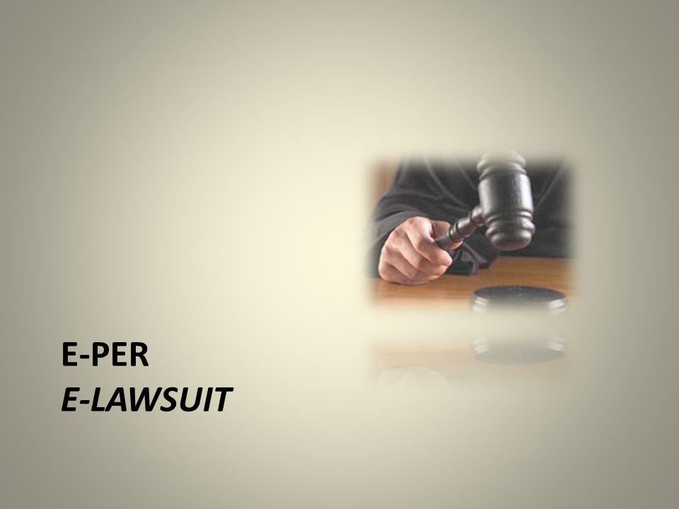 E-per E-lawsuit