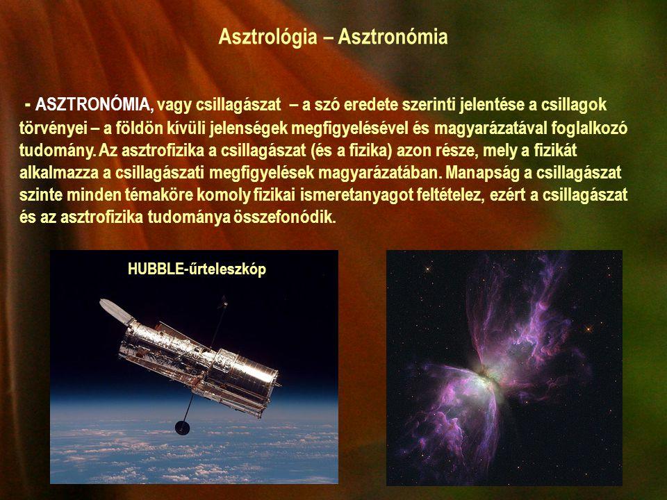 Asztrológia – Asztronómia