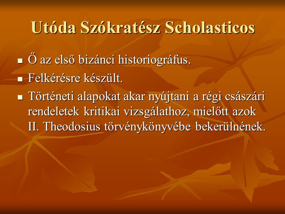 Utóda Szókratész Scholasticos