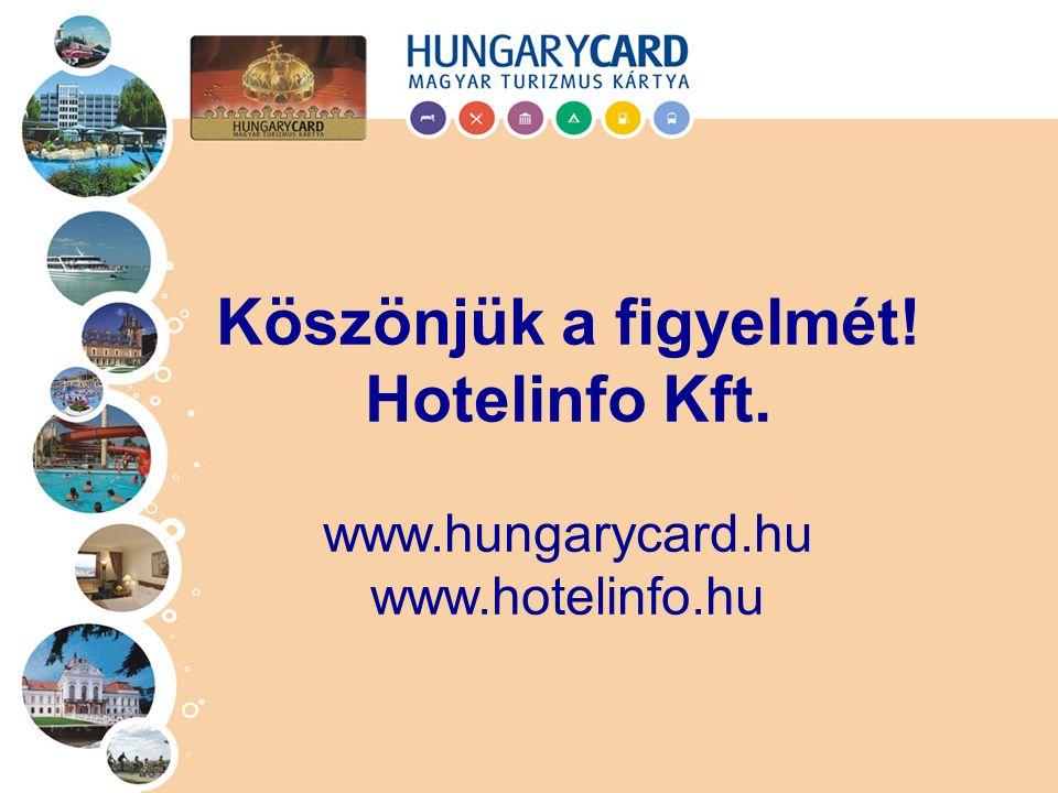 Köszönjük a figyelmét! Hotelinfo Kft.