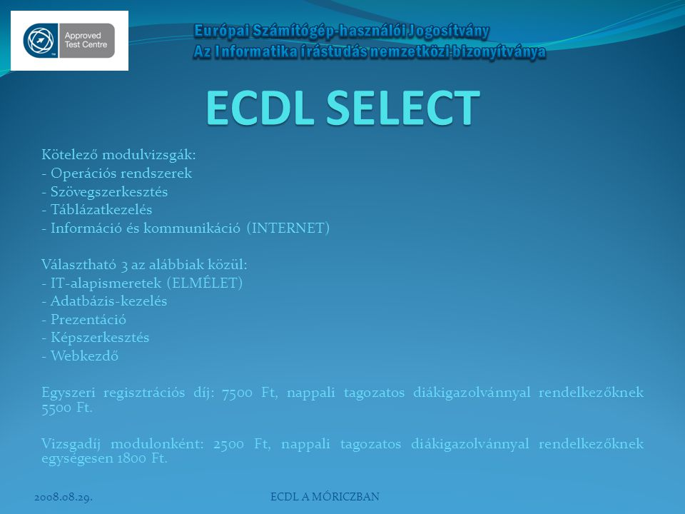 ECDL SELECT
