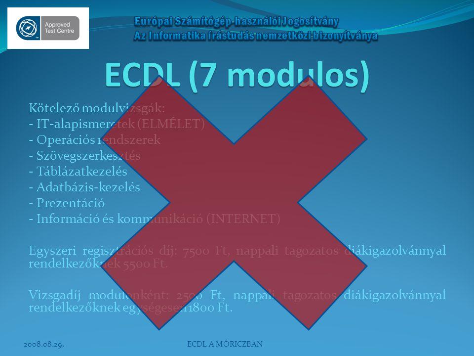 ECDL (7 modulos)