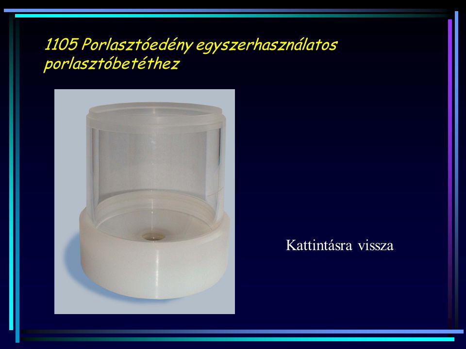 1105 Porlasztóedény egyszerhasználatos porlasztóbetéthez