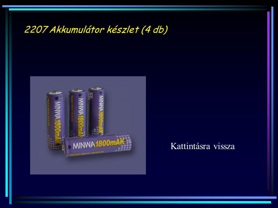 2207 Akkumulátor készlet (4 db)