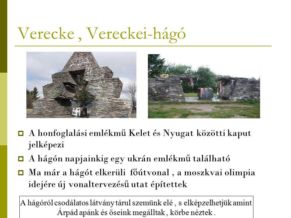Verecke , Vereckei-hágó
