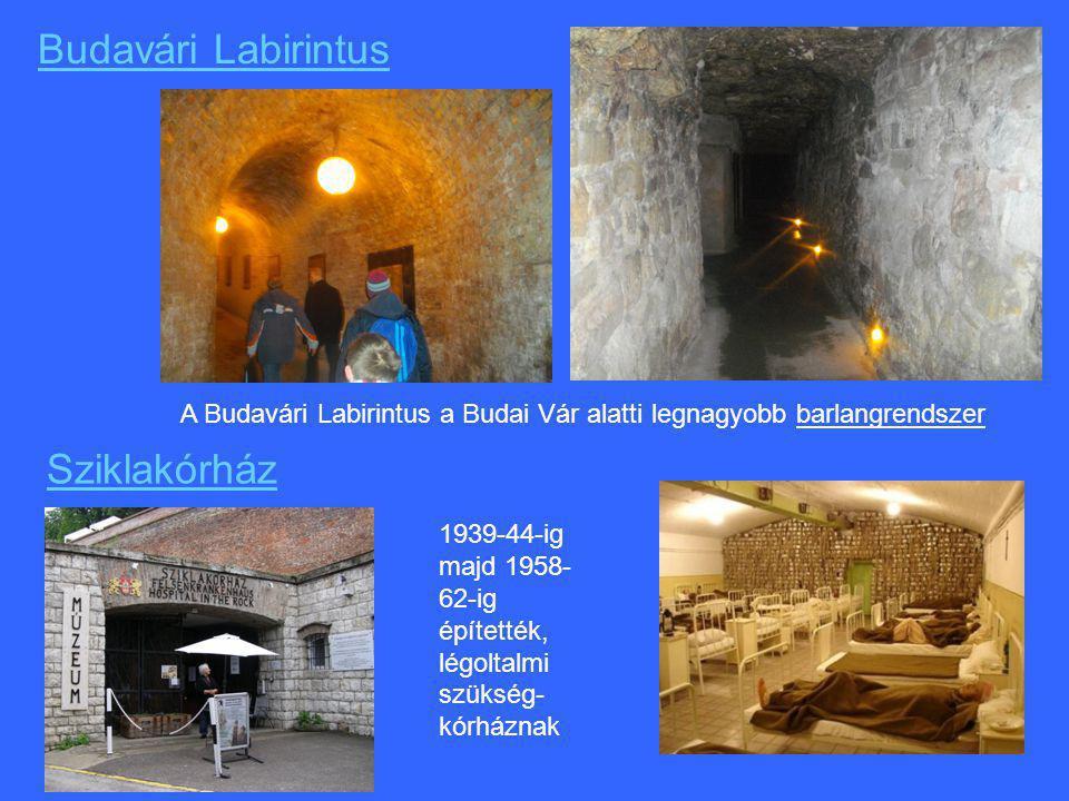Budavári Labirintus Sziklakórház