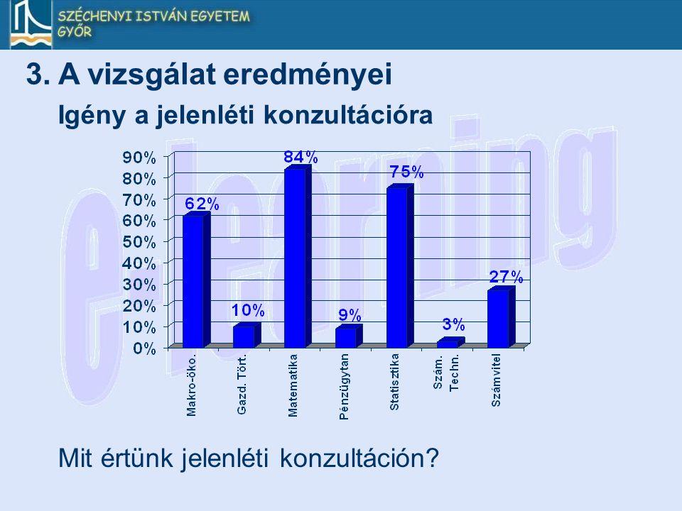 3. A vizsgálat eredményei