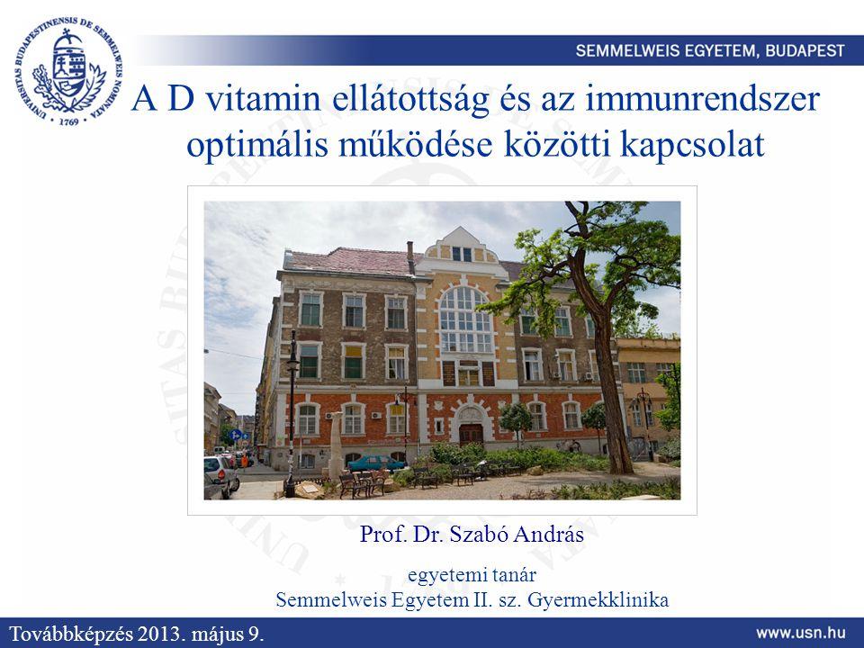 Semmelweis Egyetem II. sz. Gyermekklinika
