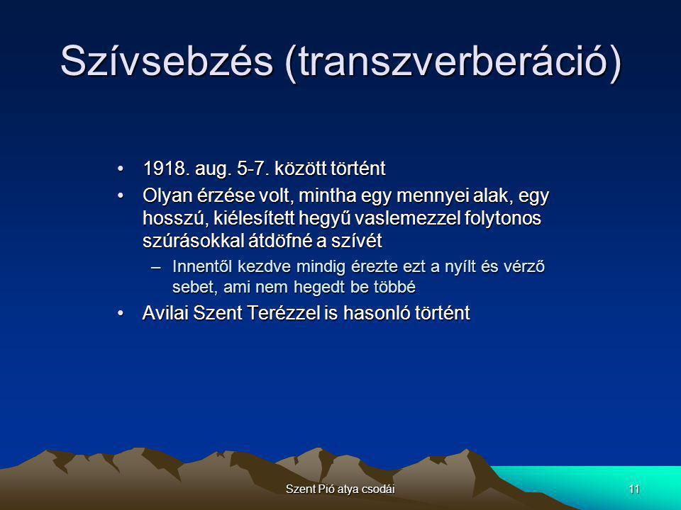 Szívsebzés (transzverberáció)