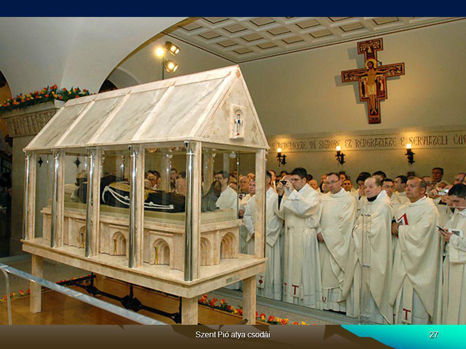 Szent Pió atya csodái