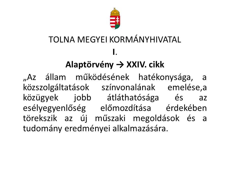 Alaptörvény → XXIV. cikk