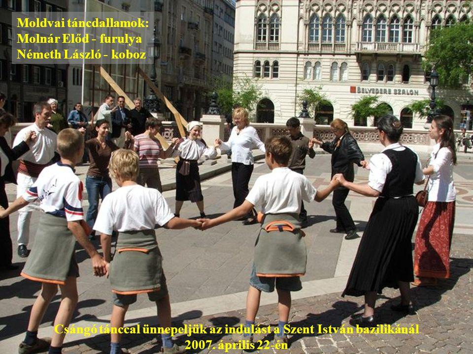 Moldvai táncdallamok: