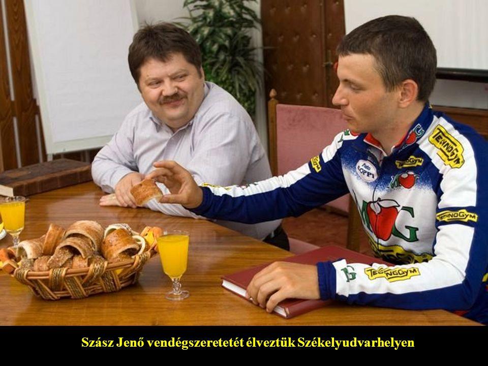 Szász Jenő vendégszeretetét élveztük Székelyudvarhelyen