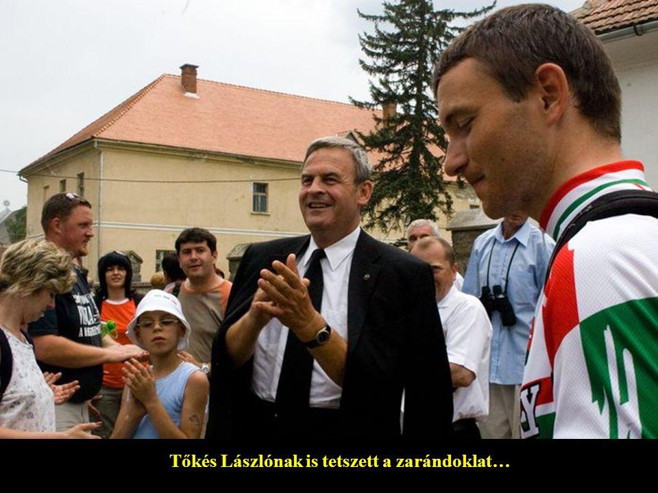 Tőkés Lászlónak is tetszett a zarándoklat…