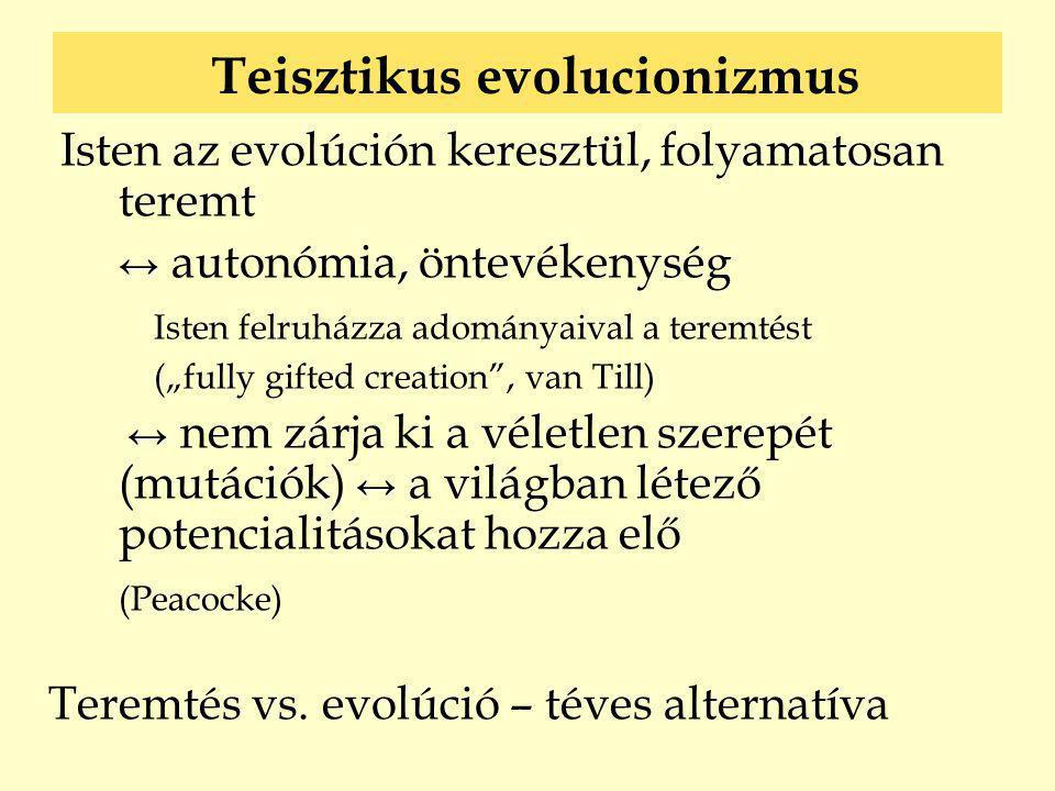 Teisztikus evolucionizmus