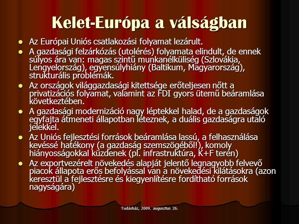 Kelet-Európa a válságban
