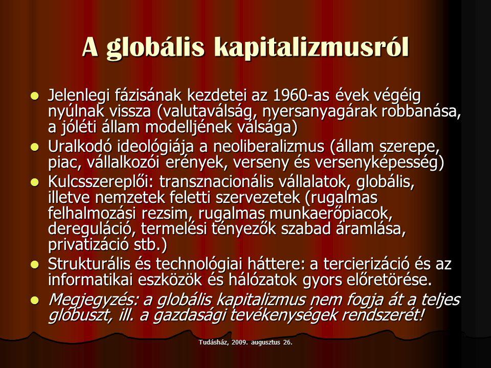 A globális kapitalizmusról