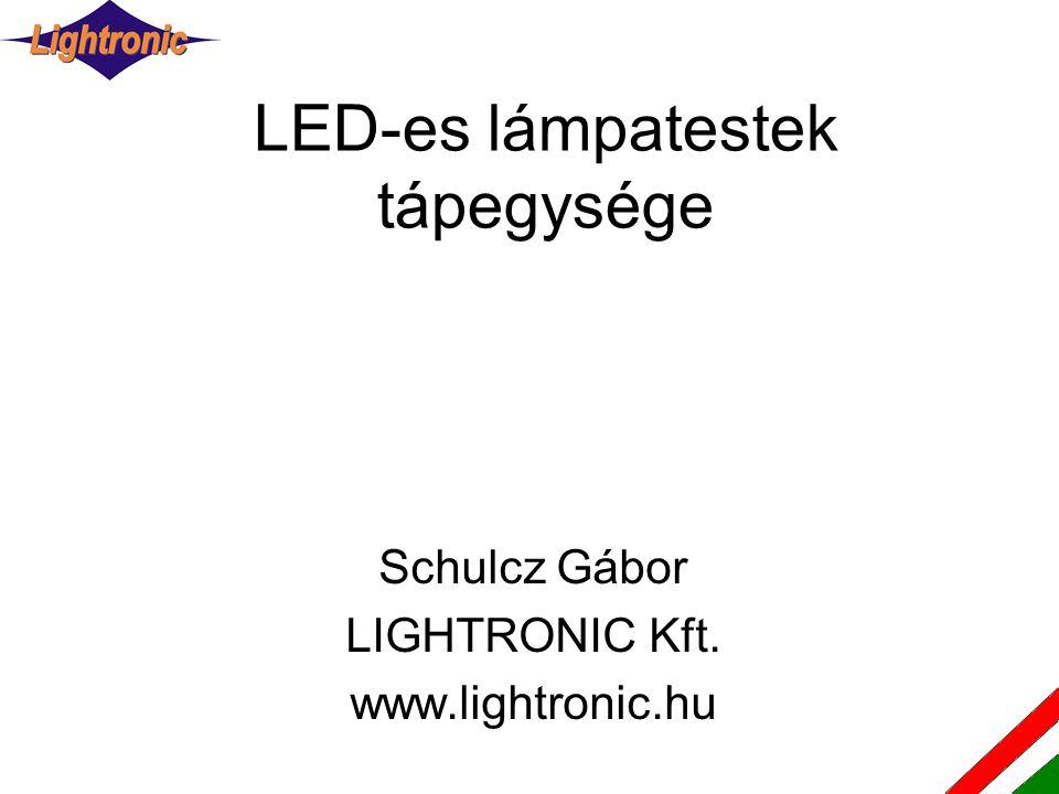 LED-es lámpatestek tápegysége