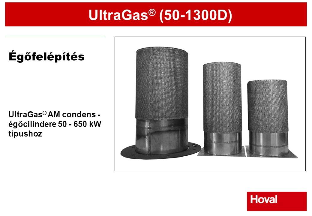 Égőfelépítés UltraGas® AM condens - égőcilindere 50 - 650 kW típushoz