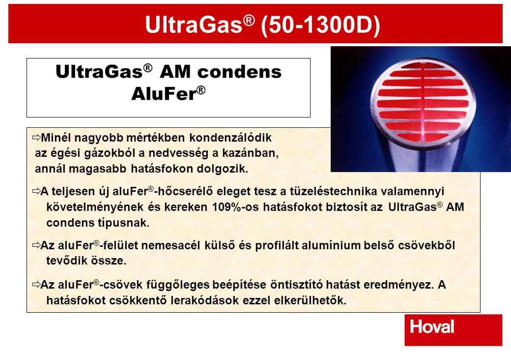 UltraGas® AM condens AluFer®
