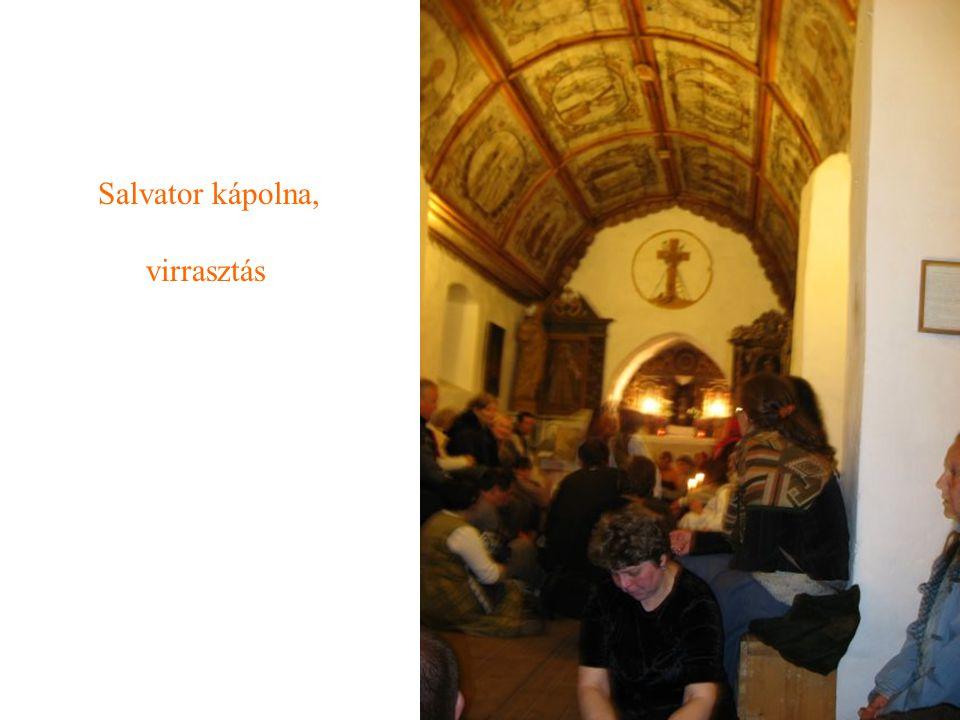 Salvator kápolna, virrasztás