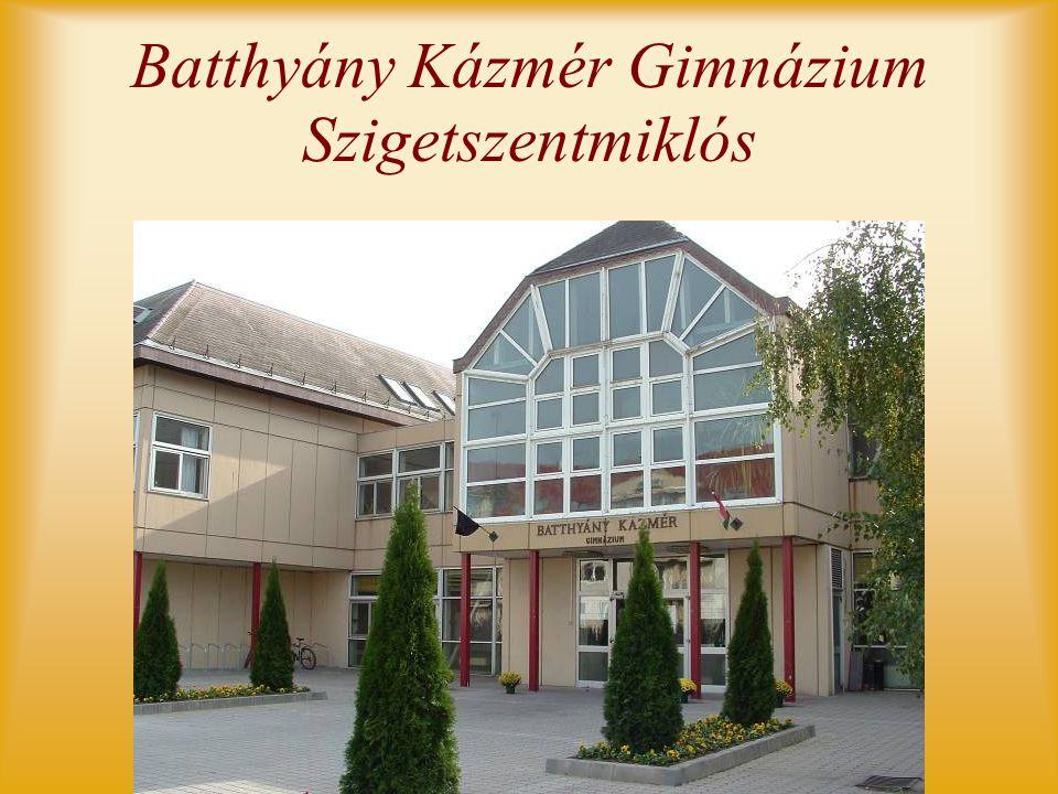 Batthyány Kázmér Gimnázium Szigetszentmiklós