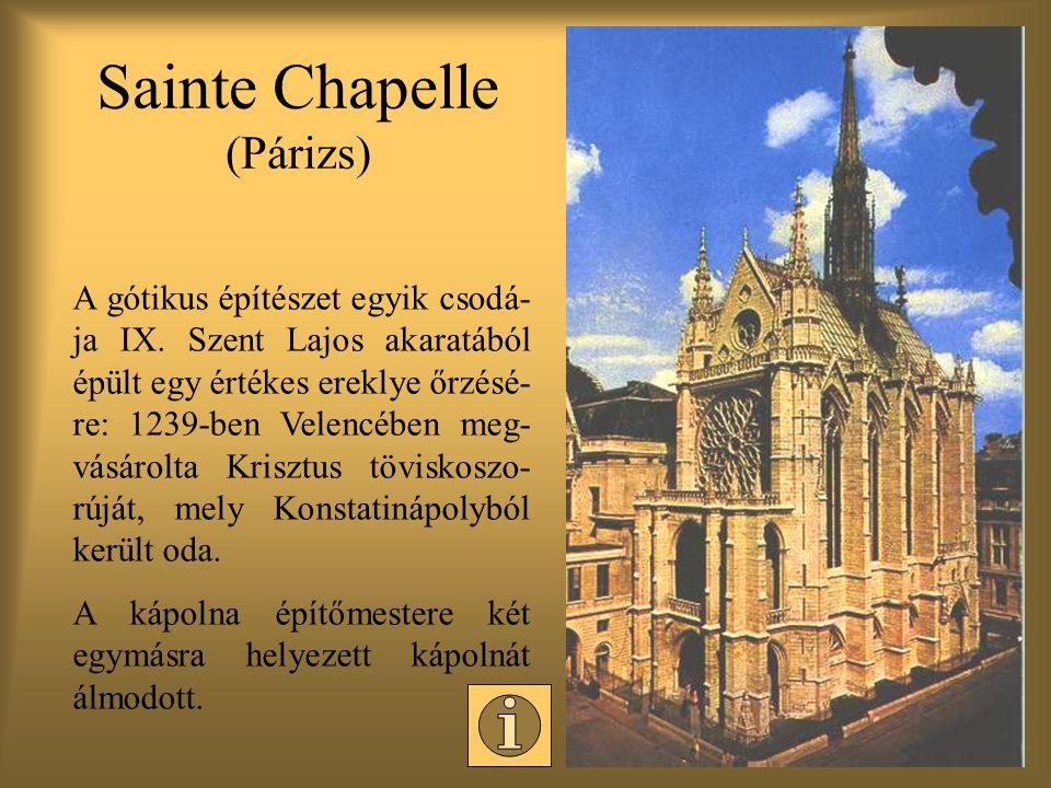 Sainte Chapelle (Párizs)