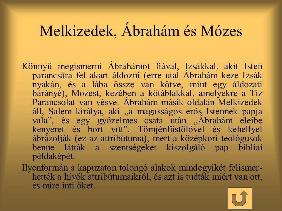 Melkizedek, Ábrahám és Mózes