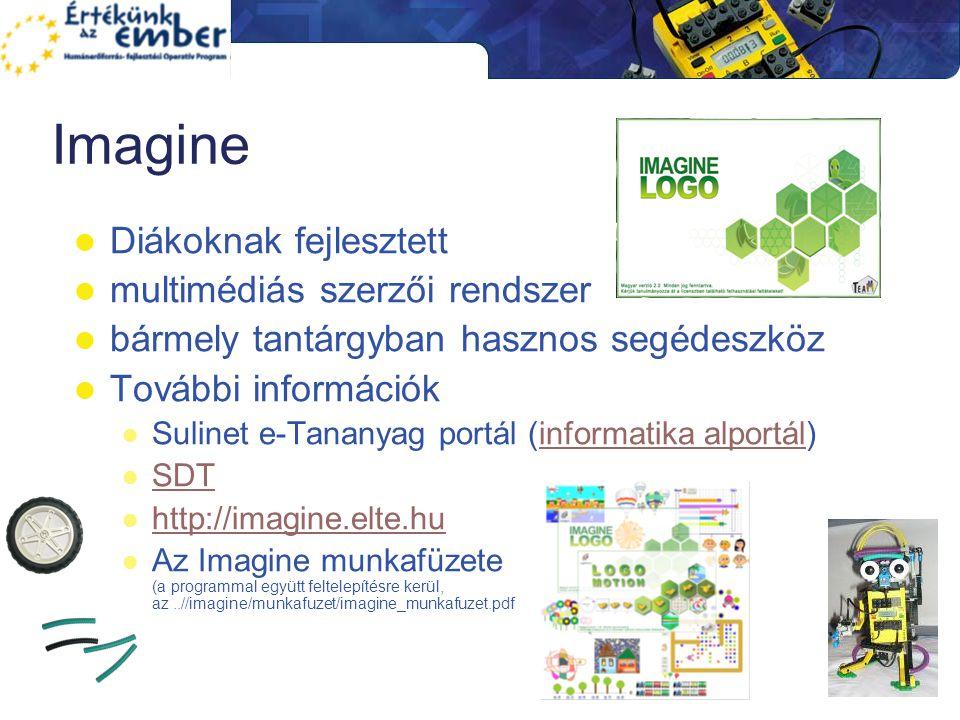 Imagine Diákoknak fejlesztett multimédiás szerzői rendszer