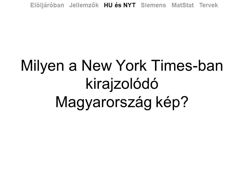 Milyen a New York Times-ban kirajzolódó Magyarország kép