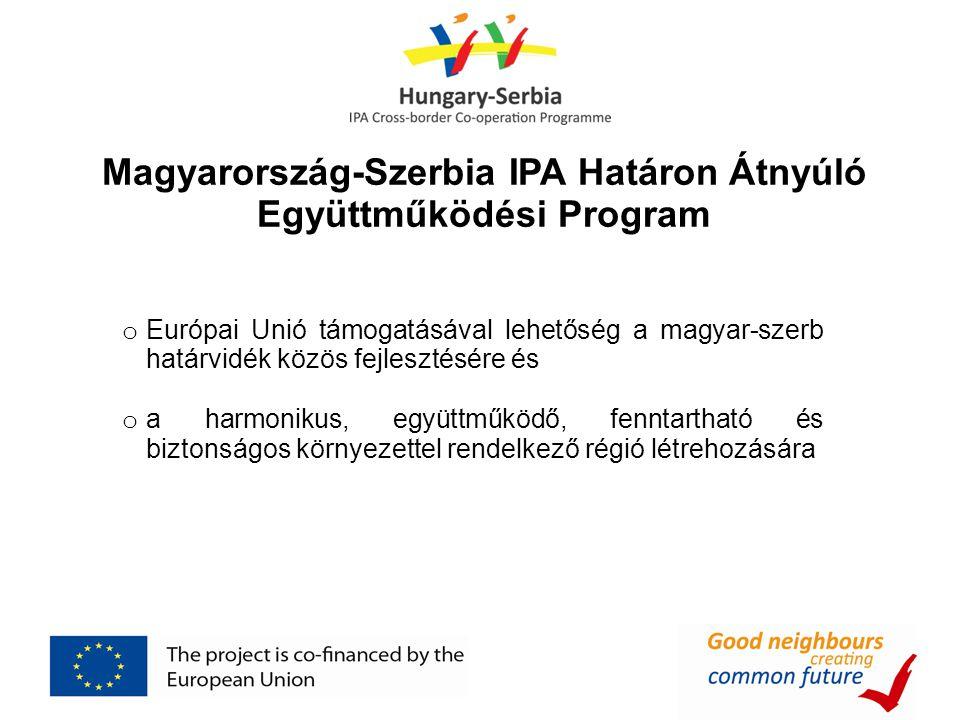 Magyarország-Szerbia IPA Határon Átnyúló Együttműködési Program