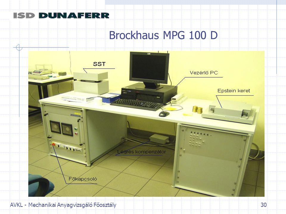 Brockhaus MPG 100 D