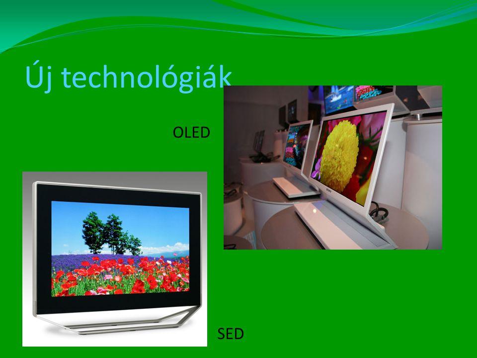 Új technológiák OLED SED