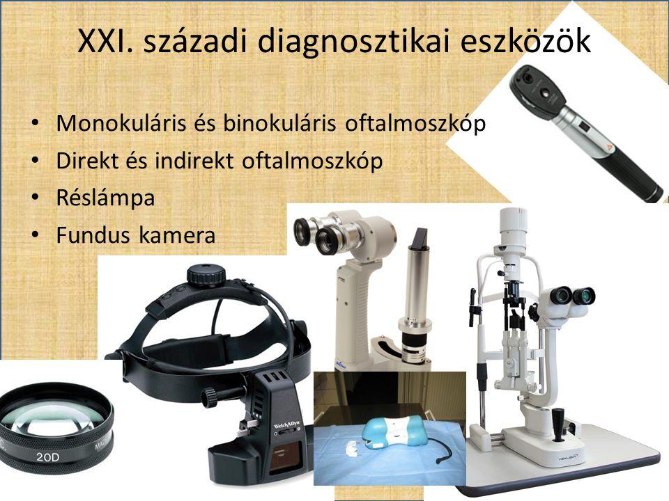 XXI. századi diagnosztikai eszközök