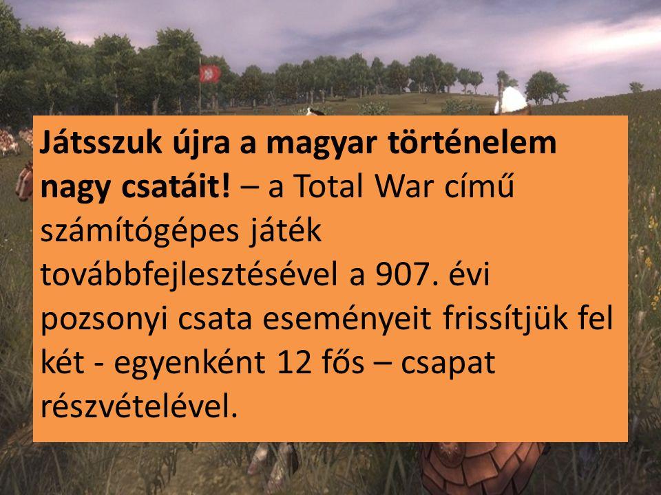 Játsszuk újra a magyar történelem nagy csatáit