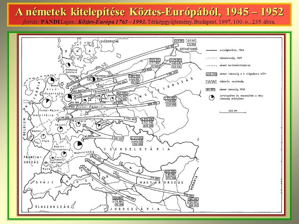 A németek kitelepítése Köztes-Európából, 1945 – 1952