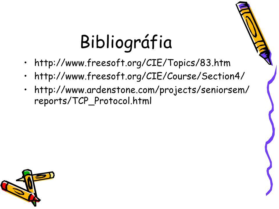 Bibliográfia http://www.freesoft.org/CIE/Topics/83.htm