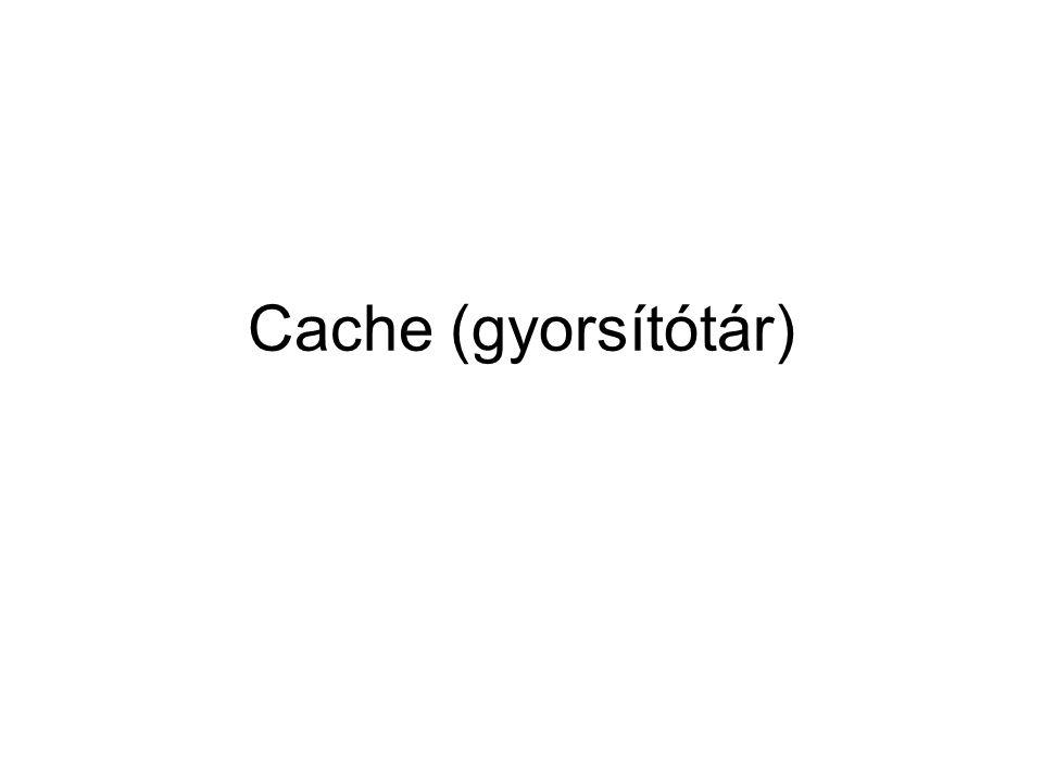 Cache (gyorsítótár)