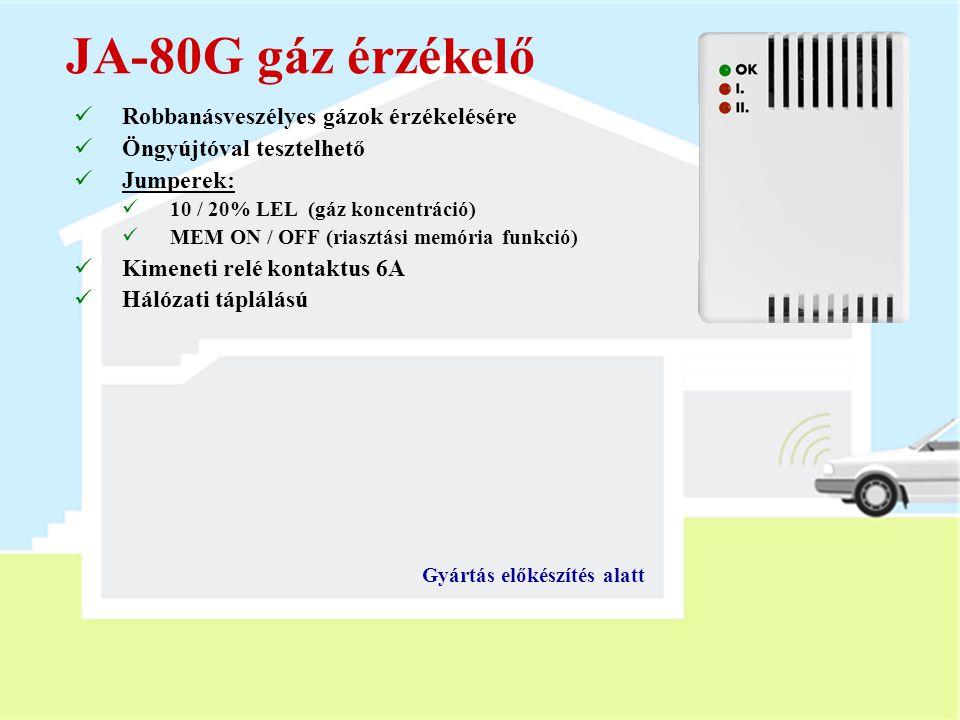 JA-80G gáz érzékelő Robbanásveszélyes gázok érzékelésére