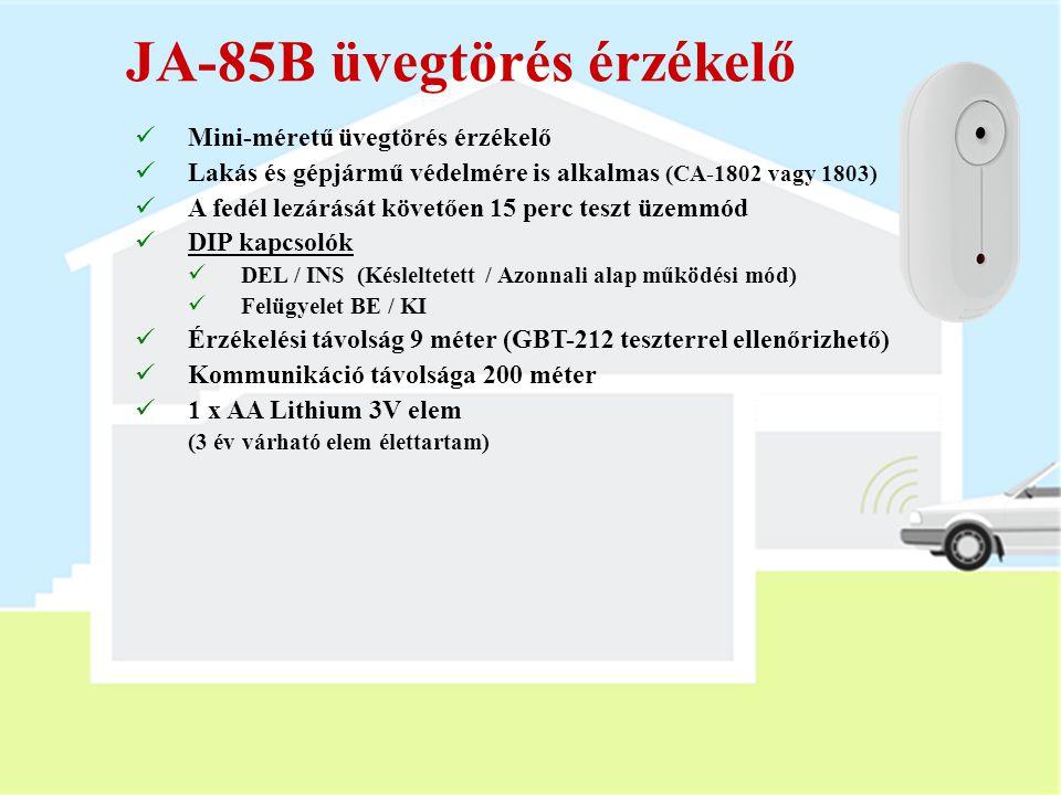 JA-85B üvegtörés érzékelő