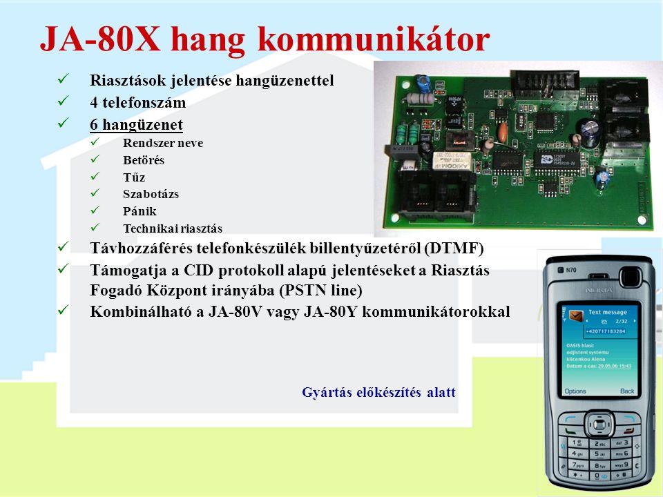 JA-80X hang kommunikátor