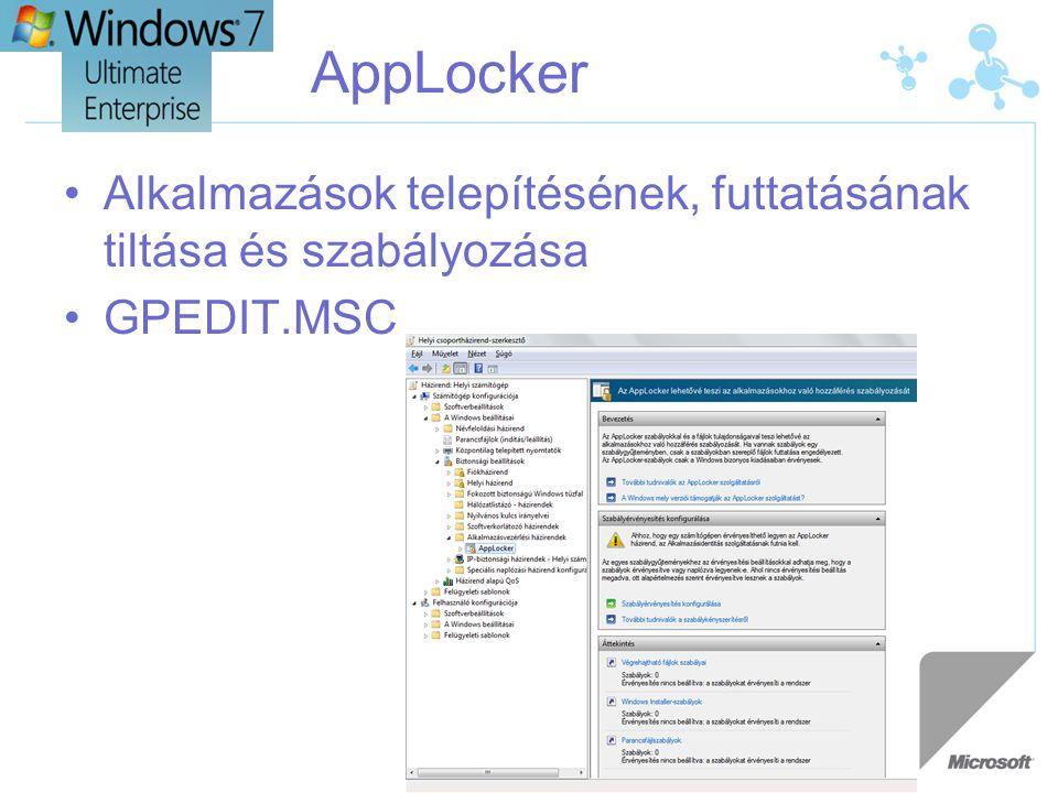 AppLocker Alkalmazások telepítésének, futtatásának tiltása és szabályozása GPEDIT.MSC