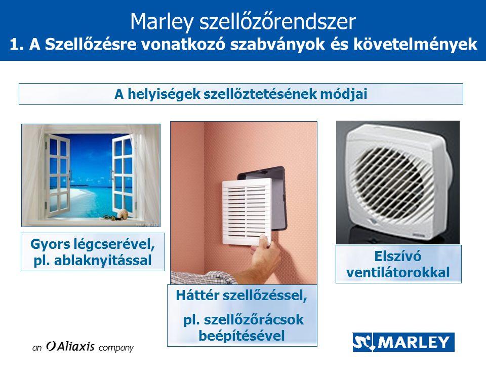 Marley szellőzőrendszer 1