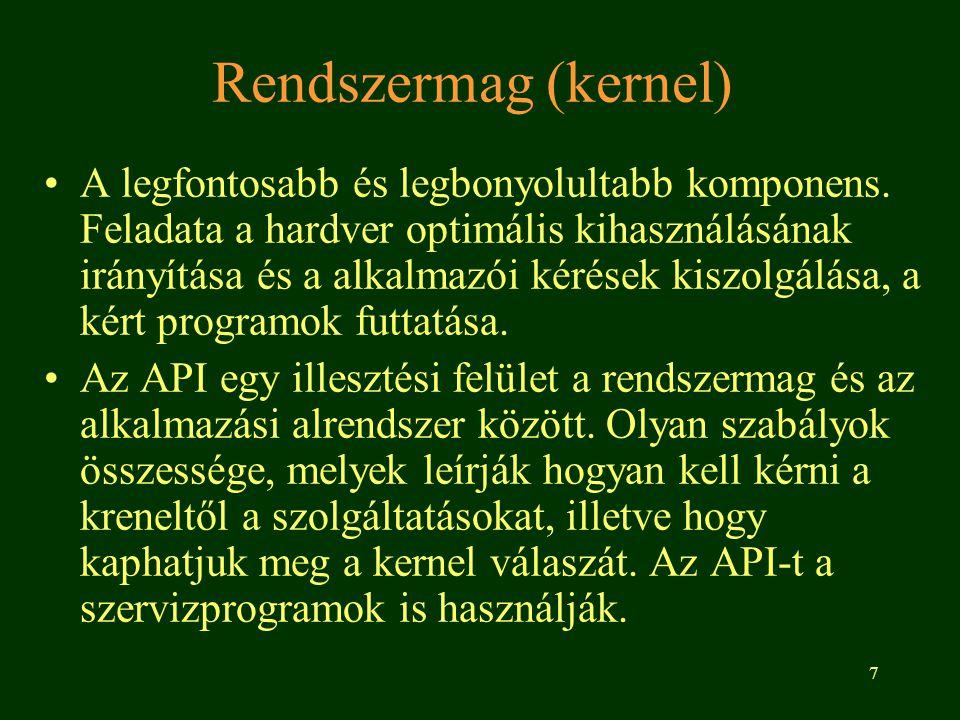 Rendszermag (kernel)